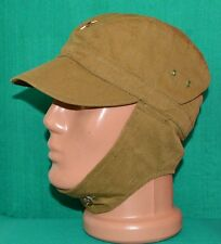 Soviet Russian Army Afganka Uniform Hat Cap w/t COCKADE