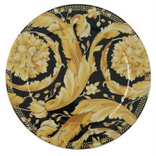 "VERSACE ""VANITY"" SERVICE PLATE 13"" PORCELAIN BRAND NEW IN BOX ROSENTHAL GERMANY"