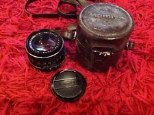 Mamiya-Sekor CS 50mm Lens 1:1.7 for Mamiya NC1000s Standard With Bag & Caps