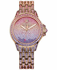 NIB Juicy Couture Women's Rose Gold-Tone Bracelet Watch 36mm 1901167