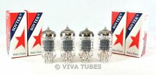 New Matched Quad (4) Sovtek 12AX7LPS / ECC83 12AX7 Vacuum Tube FREE SHIP