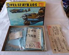 PZL -37 A/B LOS  Nr. MOD S 04   Bausatz  OVP 1: 72 - 2 Versionen in einem Karton