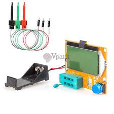 12864 Mega328 ESR Transistor Resistor Diode Capacitor Mosfet Tester w3 Test hook