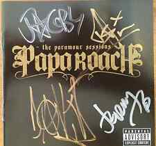 PAPA ROACH - The Paramour Sessions Signed / Autographed Booklet