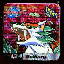 STAKS STAKS AIMANT MAGNET BEYBLADE N° 134 WOLBORG HOLO