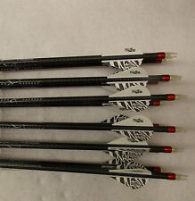 1 dozen Carbon Express Maxima Hunter 250 custom carbon arrows w/blazers!!