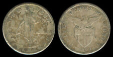 1 Peso 1909-S US-Philippine Silver Coin - Stock # 38