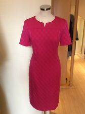 Gerry Weber Dress Size 10 BNWT Pink Textured Spotted Fabric RRP £130 NOW £59