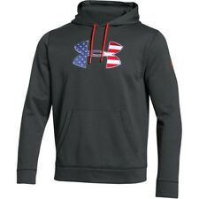 Under Armour 1276945 Men's Black BFL Armour Fleece Hoodie - Size X-Large
