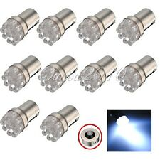 10X 1156 9 LED Whte P21W BA15s 382 Stop Brake Tail Indicator Car Light Bulb Lamp