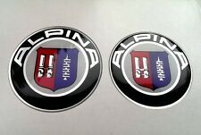 BMW Alpina badges stickers set (82mm+74mm) for BMW E39 E46 E60 E61 E90 E91