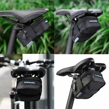 ROSWHEEL Bike Saddle Bag Bicycle Tail Rear Storage Cycling Seat Pouch Waterproof
