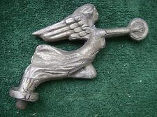 Winged Mercury Radiator Cap Hood Ornament Early Outstretched Arms Gas & Oil