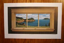 The Window View Dave Hoddinott Signed & Numbered Limited Collectors Edition
