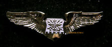 NAVIGATOR REGULATION MINI BADGE WING US ARMY AIR FORCE PIN UP GIFT 12XX WOW