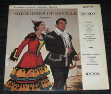 ROSSINI The Barber of Seville CALLAS 33CX MONO LP