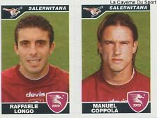 606 LONGO COPPOLA ITALIA SALERNITANA STICKER CALCIATORI 2005 PANINI