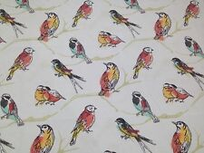 "BRYANT PERCH JUBILEE BIRD DESIGNER INDOOR OUTDOOR FABRIC BY YARD 54""W"