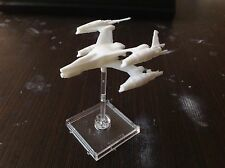Babylon 5 Thunderbolt Scale 1:270. Unpainted. Assembled