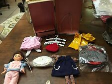 Vintage 8 Inch Doll In Trunk With cLothes Burnette
