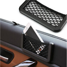 Storage Net Resilient String Bag Phone Holder Pocket Organizer for KIA Hyundai