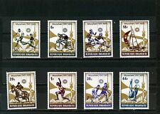 RWANDA 1972 Sc#478-485 SUMMER OLYMPIC GAMES MUNICH SET OF 8 STAMPS MNH