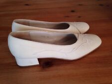 Vintage Jones Cream Court Shoes Wedding? Excellent Condition Sz 5 / 38