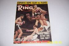 1965 THE Ring CASSIUS CLAY vs Floyd PATTERSON No Label MUHAMMAD ALI News Stand