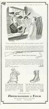 1961 Abercrombie & Fitch Vintage Cosmi Shotgun Hunting PRINT AD