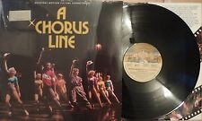 Soundtrack: A Chorus Line RARE NM Condition RARE Shrinkwarp NM Condition