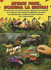 X7983 Attack Pack - Hot Wheels - Mattel - Pubblicità 1994 - Vintage advertising