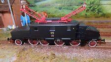Rivarossi HR2244 E431 033 Livrea nera, telaio rosso, fanali elettrici FS