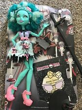 Monster High Frights camera action hauntlywood original honey swamp nude & diary
