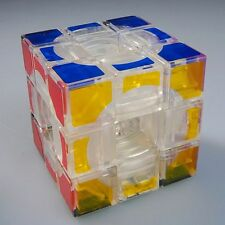 Lanlan 3x3x3 Void Speed Cube Twist Puzzle Smooth Brain Kids Toy Gift Transparent