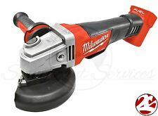 """New Milwaukee 2780-20 FUEL M18 4-1/2"""" 5"""" Cordless Grinder Paddle Switch No-Lock"""