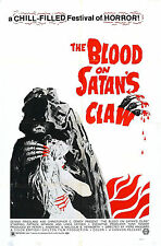 Blood On Satan's Claw - Linda Hayden - A4 Laminated Mini Poster