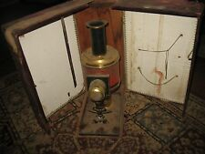 Vintage Antique 19thC German Magic Lantern with Projector Case, GREAT FIND!