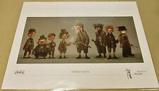 "NEW Alice Madness Returns ""Street Rats"" Signed Hog Lei Lithograph Print ?/500"
