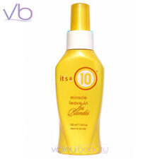 IT'S A 10 Miracle Leave In For Blondes 120ml All In One Treatment, its a 10