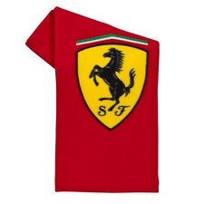 Scudetto Ferrari F1 Official Cotton Beach Towel - Red - 70cm x 140cm