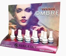 KIARA SKY Mood Changing Gel Polish Ombre *WICKED* Collection - 11 Colors