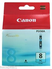 1 x Canon Original OEM CLI-8PC, CLI8 Photo Cyan Inkjet Cartridge