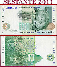 (Es) SUDAFRICA SOUTH AFRICA - 10 RAND 1993 - Sign 7 Stals - P 123a -  XF+/ AUNC