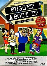 NEW  2DVD SET  // FUGGET ABOUT IT // SEASON 1 // UNRATED & UNCENSORED // 5 HOURS