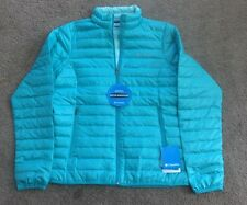 NWTs Columbia Women's Wood Creek Down Jacket Sz:M Color:Geyser RP: $130