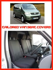 Vw T5 Transporter Tailored Fundas De Asiento 1 +2 Gris 3