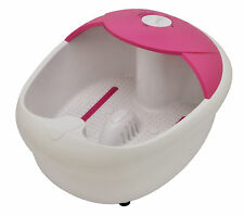 Salon Home Pampering Relaxing Massage Frothy Bubble Foot Feet Spa Machine Gift