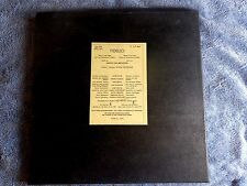 FURTWANGLER RARE 1950 PRIVATE PRESS FIDELIO FLAGSTAD 3 LPS BOX SET