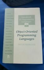 Handbook of Programming Languages VOL 1: Object Oriented Programming Language