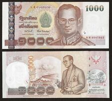 THAILAND 1000 1,000 Baht, Sign 82, 2009, P-115, King Bhumibol, UNC